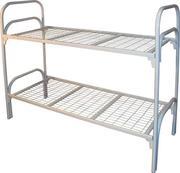 кровати недорого одноярусные и двухъярусные для рабочих и больниц