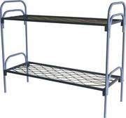 Кровати металлические одноярусные,  для бытовок,  кровати по низкой цене