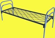 Железные двухъярусные кровати для бытовок,  кровати для общежитий. опт