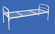 Металлические кровати с ДСП спинками для пансионатов,  кровати дёшево
