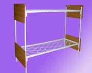 Кровати металлические двухъярусные для рабочих,  кровати металлические