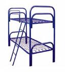 Кровати металлические с ДСП спинками для санаториев,  низкие цены.
