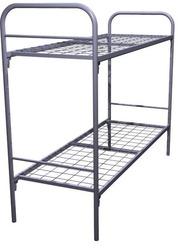 Кровати металлические двухъярусные для казарм,  кровати трёхъярусные.