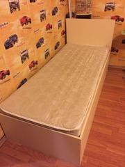 Продам односпальную кровать и матрас б/у Самара